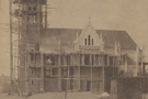 Construction of the church during year 1911.