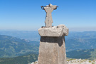 Komovi, frost and thunderstrikes have destroyed the cross on the summit