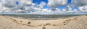 Laboe Beach Panorama