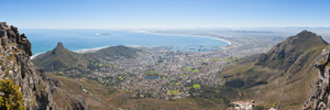 Cape Town Panorama from Table Mountain