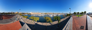 Barcelona Port Vell Panorama (VR)